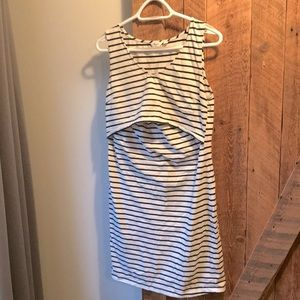 Thyme maternity and nursing dress
